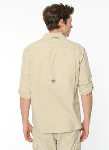 Columbia Uzun Kollu Gömlek Beyaz